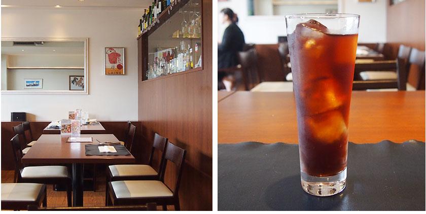 那珂川市の本当に美味しいパスタ屋「KISUTEI」ドリンクもついています